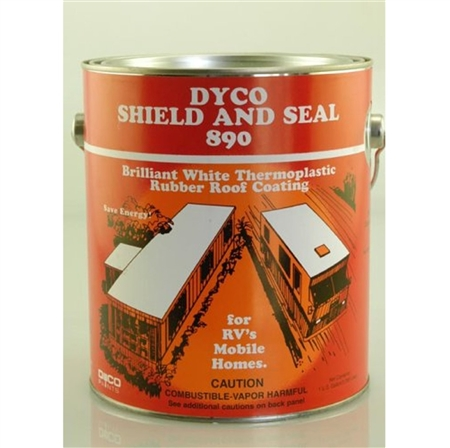 Dyco 890-1 Shield & Seal RV Roof Coating - 1 Gallon
