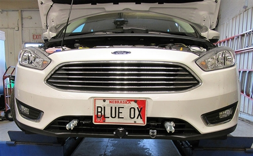 Does the BX2663 BlueOx baseplate fit a 2018 Focus Hatchback non RS/ST?