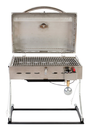 Faulkner 52302 Stainless Steel Portable Propane Grill Questions & Answers