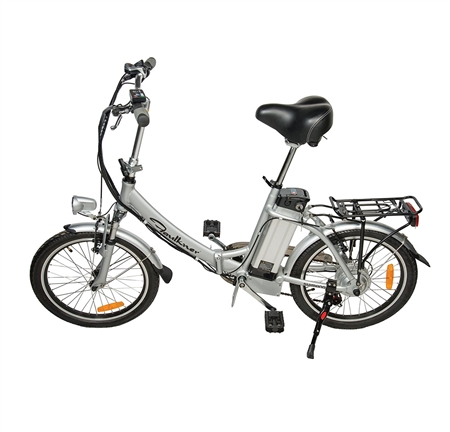 Faulkner 82048 6-Speed Folding Electric Bike - 20'' Questions & Answers