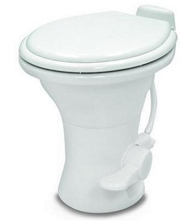 Dometic 302310181 Ceramic 310 Series RV Toilet With Hand Sprayer - White