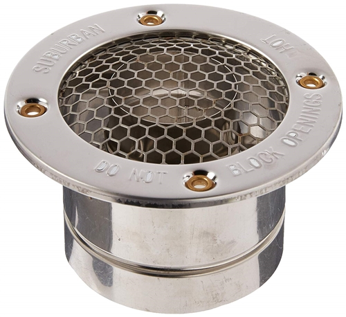 Suburban 261617 Replacement RV Water Heater Vent Cap - 1''-2'' Questions & Answers