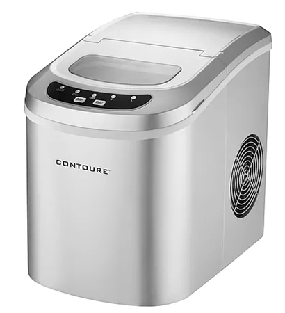 Contoure RV-135Z Portable Ice Maker - Silver Questions & Answers