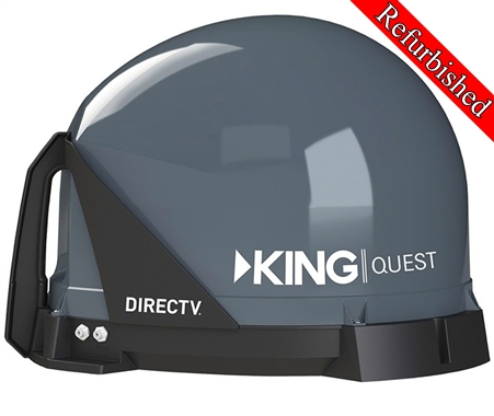 King VQ4100R Quest Satellite TV Antenna - Refurbished