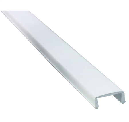 JR Products 11421 White Phillips Style Rigid Screw Cover
