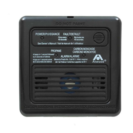 Atwood 31012 Dual RV LP/CO Alarm - Black Questions & Answers