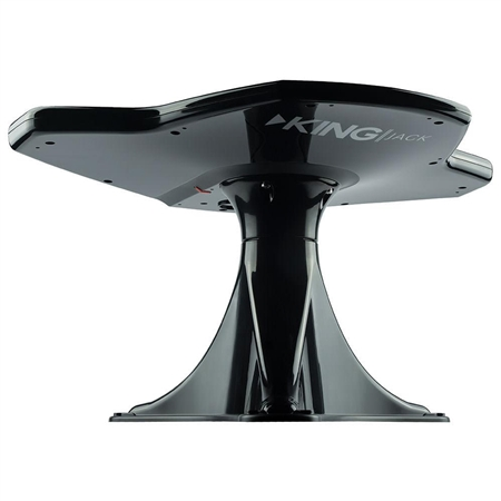 KING OA8401 Jack Directional Over-The-Air Antenna With Mount - Black