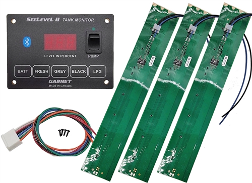 Garnet 709-BTP3 SeeLevel II Tank Monitoring System with Bluetooth Questions & Answers