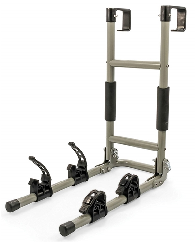 Camco 51492 RV Ladder Mount Bike Rack - 2 Bikes Questions & Answers