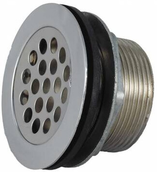 JR Products 9495-209-022 RV Shower Strainer 2""