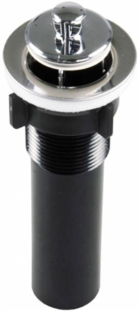 JR Products 95255 Strainer With Pop-Up Stopper - Chrome