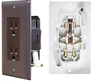 RV Designer S815 AC Self Contained Dual Outlet With Brown Cover Plate Questions & Answers