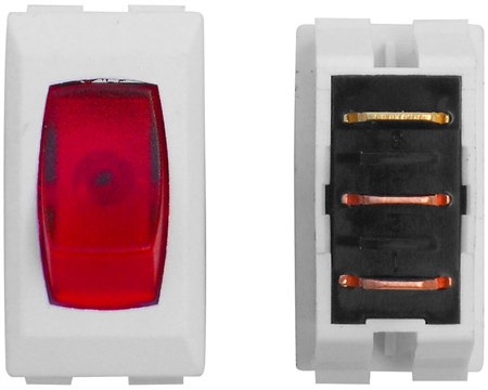 Valterra DG110PB Illuminated On/Off Rocker Switch - White/Red - 3 Pack Questions & Answers
