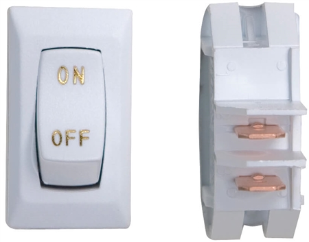 Valterra DG110UGVP Labeled 12V On/Off Switch White/Gold Questions & Answers