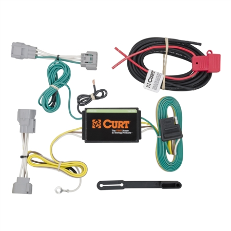 Curt 56208 Wiring Harness for Jeep Cherokee '14-'18