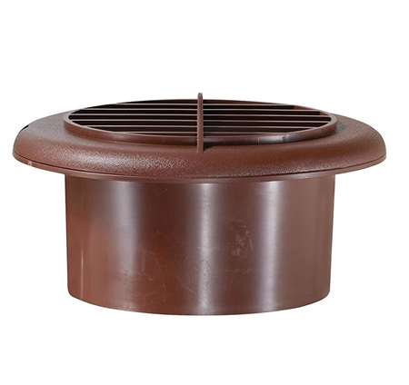 RV Designer H805 Round Rotaire RV Vent With Damper - Walnut Questions & Answers