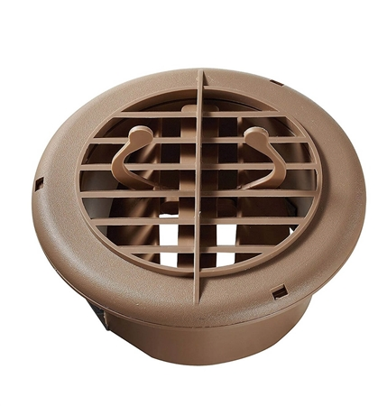 RV Designer H810 Round Rotaire RV Vent With Damper - Beige Questions & Answers