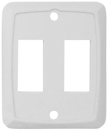 Valterra DG258PB Double Switch Wall Plate - Ivory - 3 Pack Questions & Answers