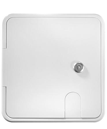 RV Designer B152 RV Locking Electrical Hatch - 8.5'' x 8'' Questions & Answers