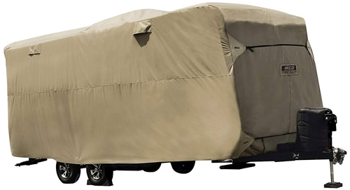 """ADCO 74839 Travel Trailer Storage Lot Cover - 15' 1"""" to 18'"""