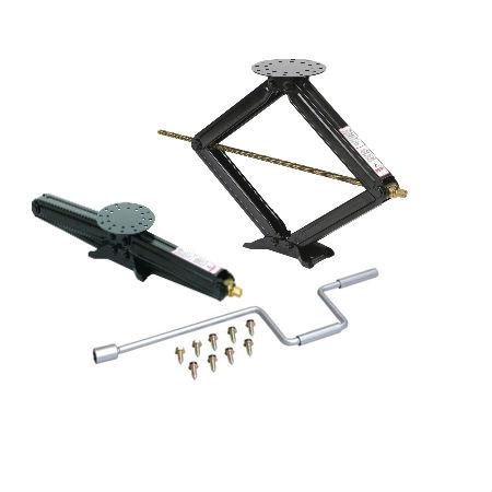 "Husky Towing 88124 Stabilizing Scissor Jack - 30"" - 5000 lbs - Set of 2"