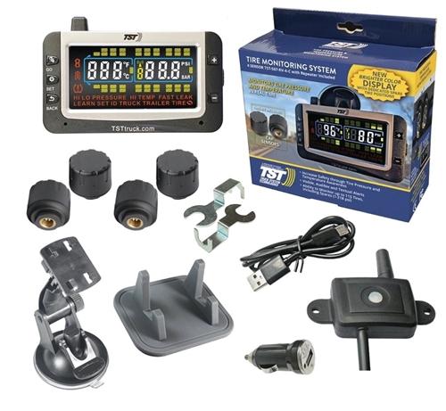 TST TST-507-RV-4-C Cap Sensor Tire Pressure Monitoring System - Color - 4 Pack Questions & Answers