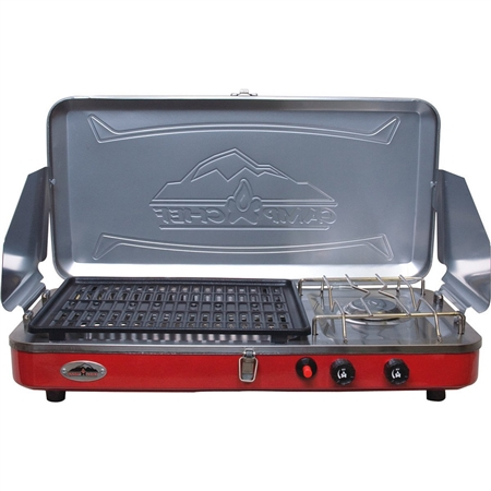 can i buy a replacement burner for the grill side of the Rainier stove?