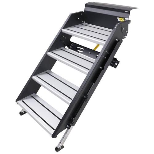 """Lippert 791574 SolidStep Fold-Down RV Quad Steps - 26""""-28.9"""" Width"""