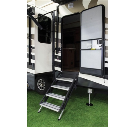Lippert 678027 SolidStep RV Fold-Down Steps - 30'' Width Questions & Answers