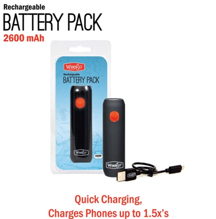 Weego BP26X 2600 mAh Rechargeable Battery Pack
