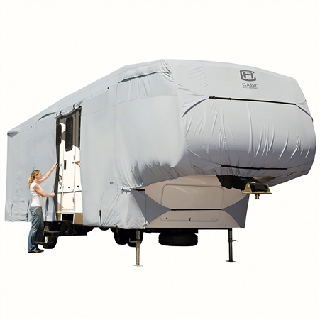 I park my fifth wheel under an oak tree in Florida with rain every afternoon and high humidity, which cover ?