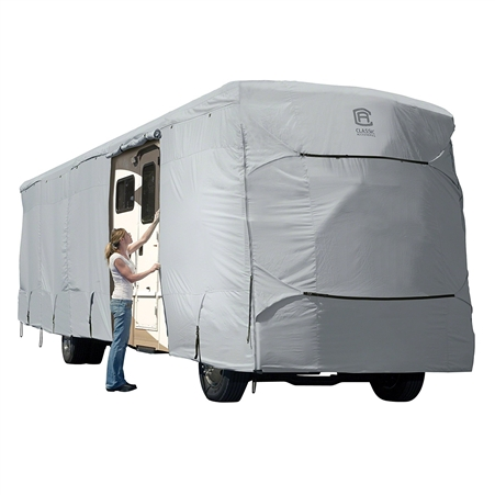 Classic Accessories 80-328-161001-RT Overdrive PermaPro Heavy Duty Cover For Class A RV's - 24' to 28' Questions & Answers