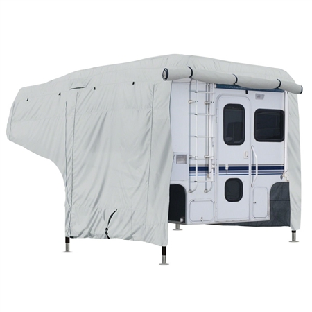 Classic Accessories 80-258-141001-00 Gray PermaPro Heavy Duty Camper Cover - Model 1 - 8'-10'