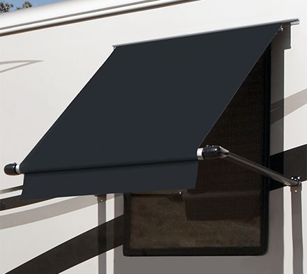 Carefree WG0504E4EB Simply Shade RV Window Awning - 5 Ft - Black Questions & Answers