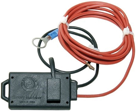I have a 4 position round plug on my tow vehicle.  Where do I connect the red wire?  The Brake Buddy is powered by