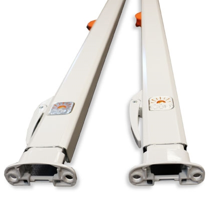 What are the shortest awning arms for a manual awning, I can't have over 5 ft 6 in arms. Thank you Tim