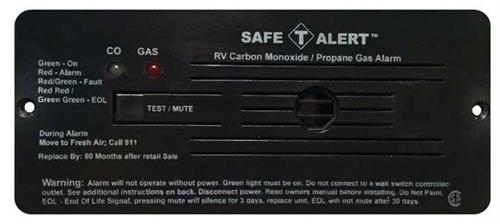 Safe-T-Alert 35-742-BL 35 Series Dual CO/LP Gas Detector - Flush Mount - Black Questions & Answers