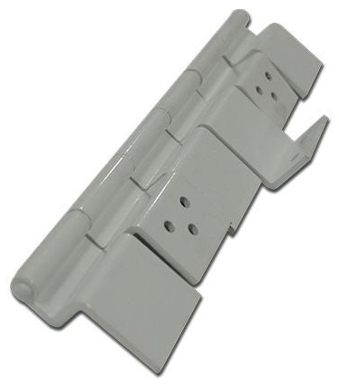Do these 198295 hinges work for screen and exterior door?