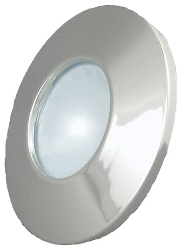 Gustafson AM4015 RV Interior Halogen Light - Satin Nickel