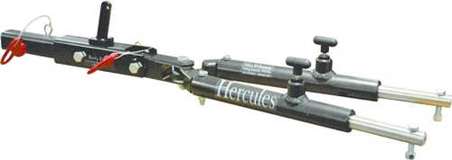 What adapter parts do I need to connect the NSA Hurcules tow bar to a Roadmaster baseplate Item Item # 1545-1