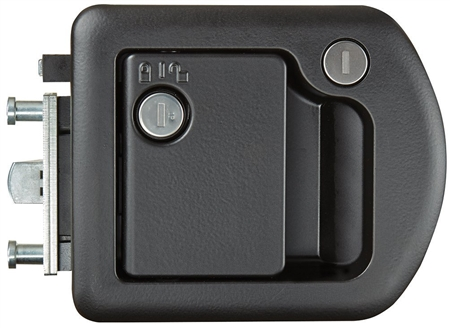 We have this RV door lock/latch on our Renegade Coach and our looking for a keyless upgrade, any suggestions.