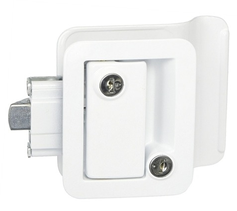 I just purchased this RV lock due to the original lock breaking.  However, securing key blanks  is impossible.