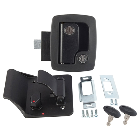 AP Products 013-520 Bauer RV Entry Door Lock With Keys - Black Questions & Answers