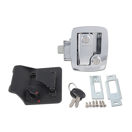 AP Products 013-535 Bauer RV Entry Door Lock With Keys - Chrome Questions & Answers