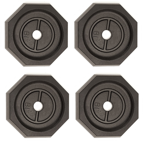 """RV SnapPad PRIME Permanent RV Jack Pad 4 Pack - 10"""" Power Gear & Kwikee Leveling Systems"""