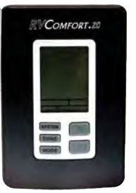 Coleman Mach 9330A3341 Zone Control 9-Series Digital RV Thermostat - Black