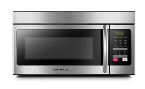 Does the rack on the glass plate need to be removed when using the microwave?
