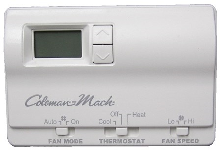 Coleman Mach 6636-3441 Digital 2 Stage Air Conditioner/Gas Furnace RV Wall Thermostat Questions & Answers