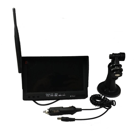 """Swift Hitch MN07 Color Monitor with Wireless Reception For SH01, SH02 and SH03 Cameras - 7"""""""