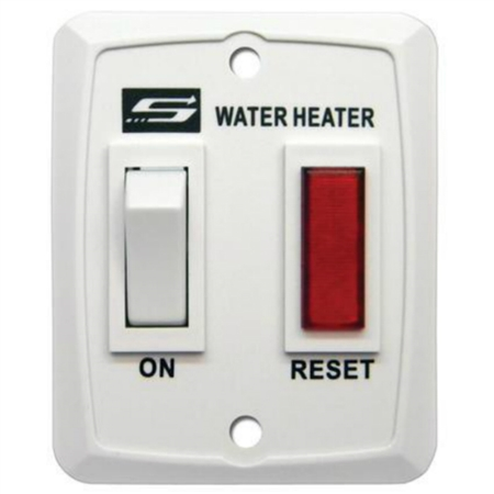 How do you install this Suburban 232589 water heater wall switch and connect to wires?